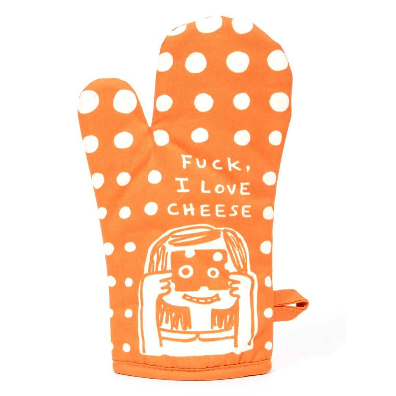 Fuck, I Love Cheese Oven Mitt