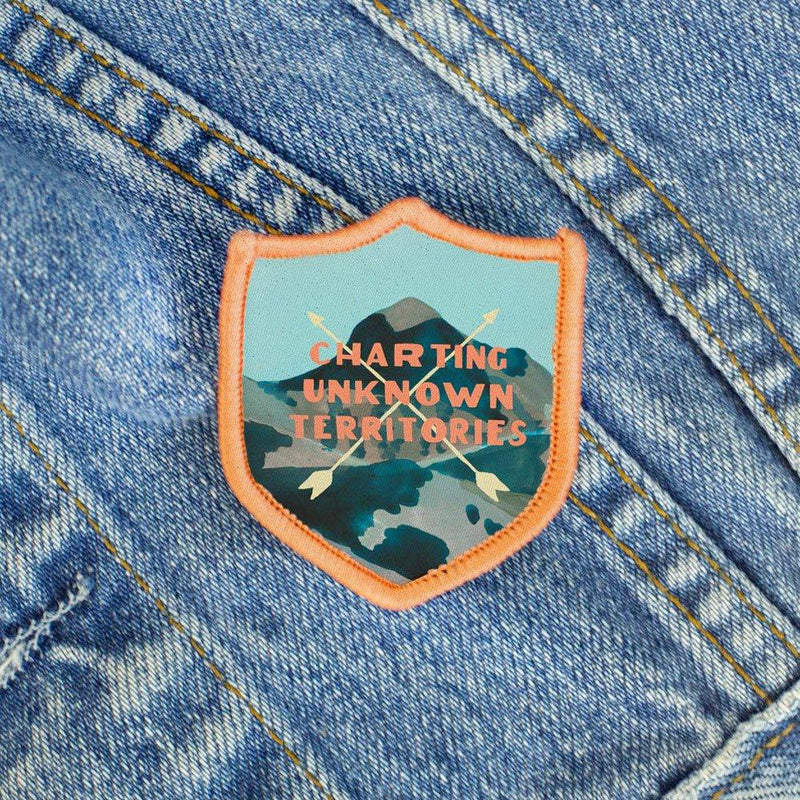 Charting Unknown Territories Woven Patch