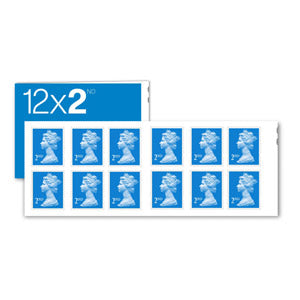 Book of 12 2nd Class Stamps