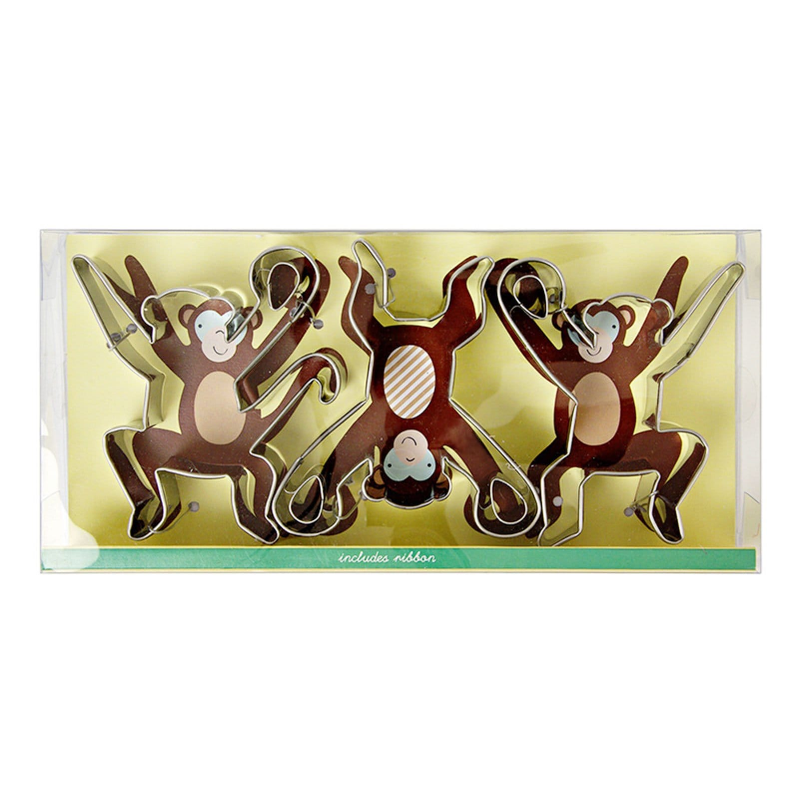 Cheeky Monkey Cookie Cutters