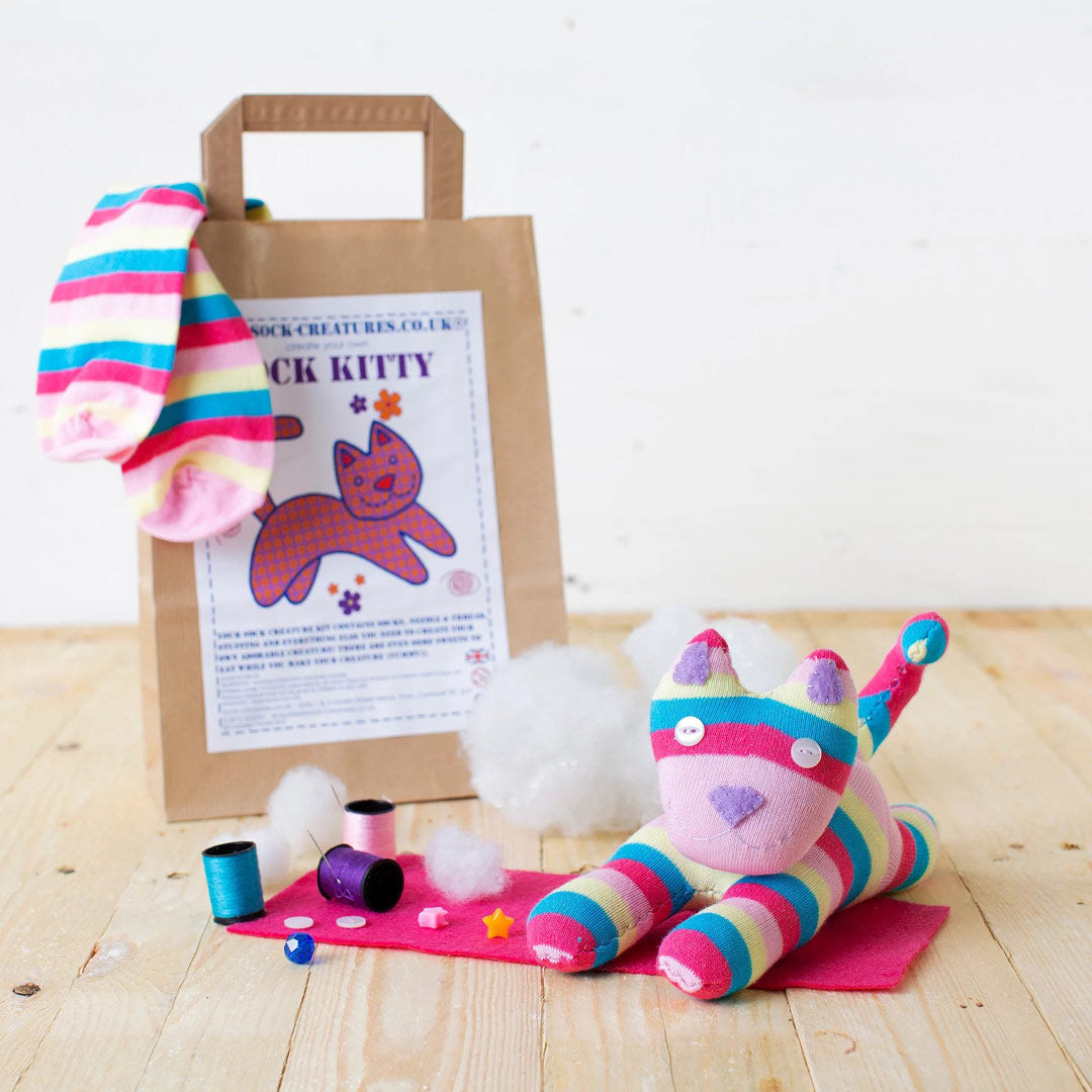 Kitty Sock Craft Kit