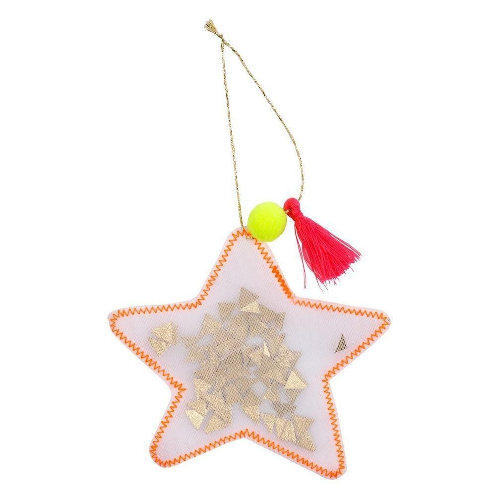 Star Shaker Tree Decoration