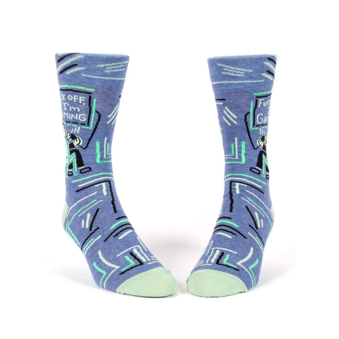 Fuck Off, I'm Gaming: Mens Crew Socks