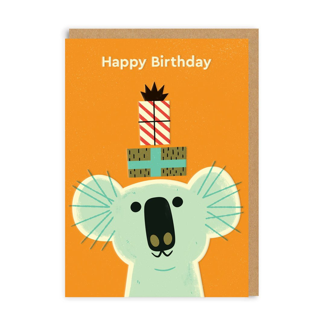 Birthday Koala Greeting Card