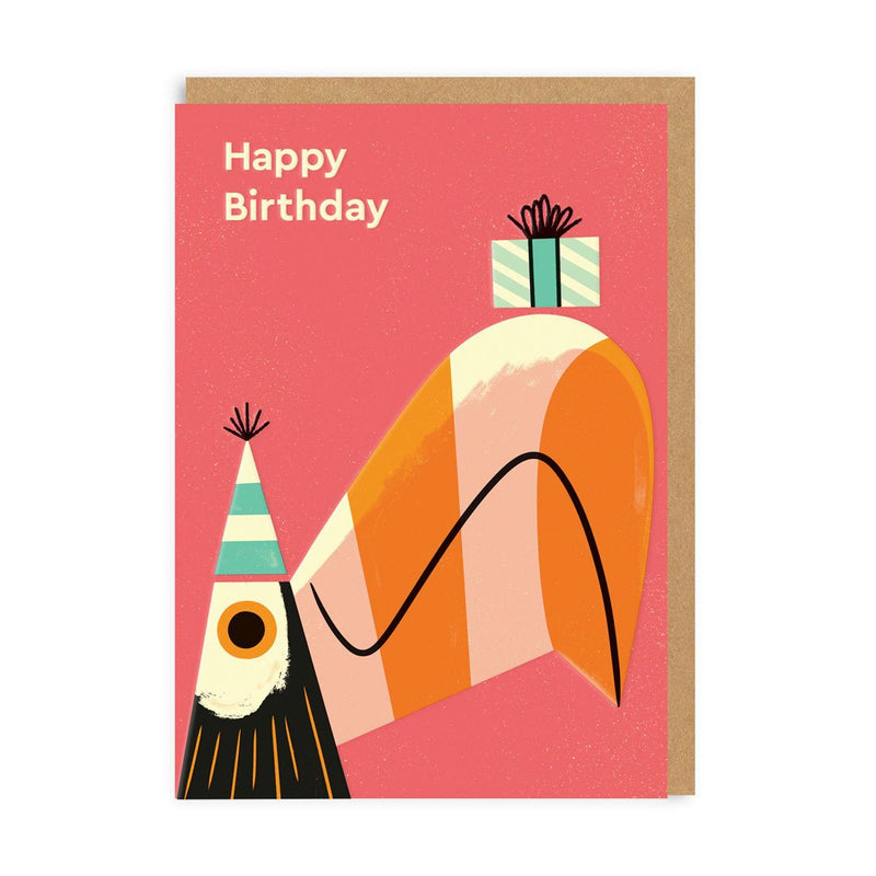Birthday Toucan Greeting Card