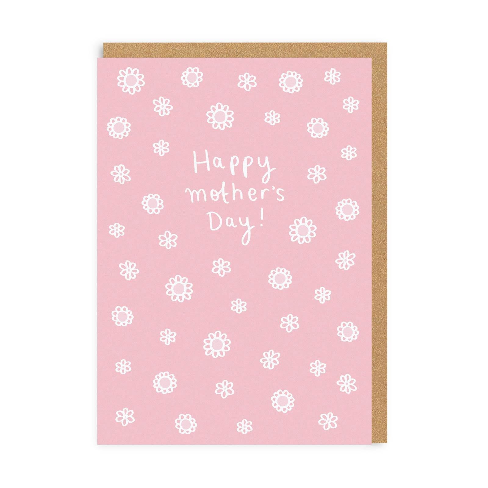 Happy Mother's Day Ditsy Floral Greeting Card
