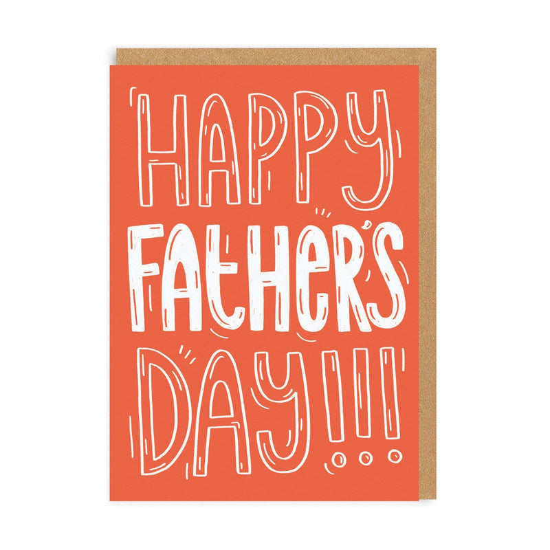 Dad Happy Father's Day Greeting Card