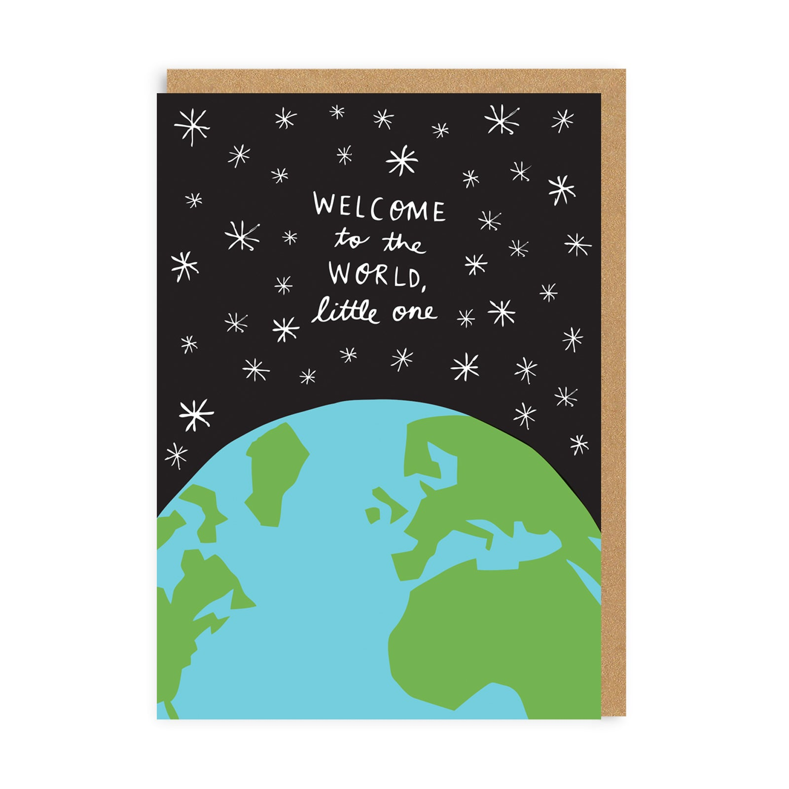 Welcome To The World Greeting Card