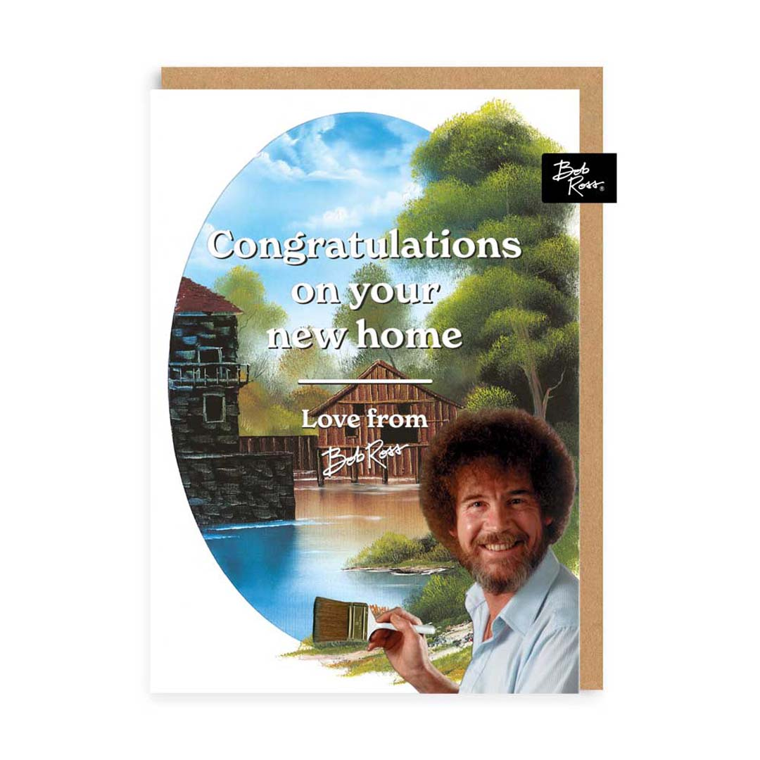River House Congratulations New Home Greeting Card