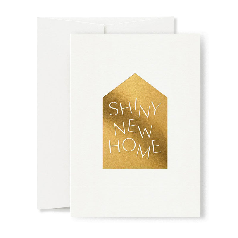 Shiny New Home Greeting Card