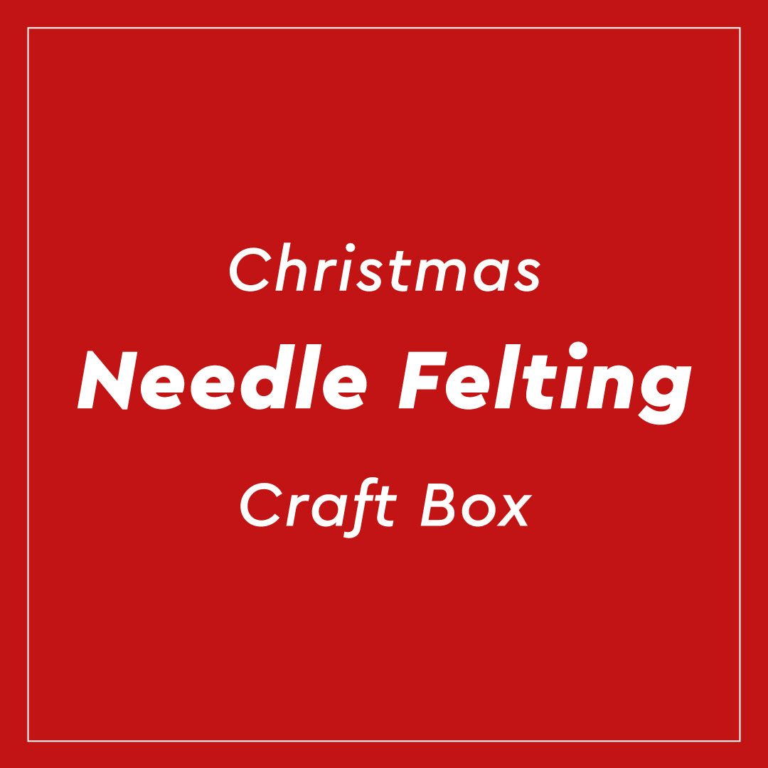 Christmas Needle Felting Craft Box