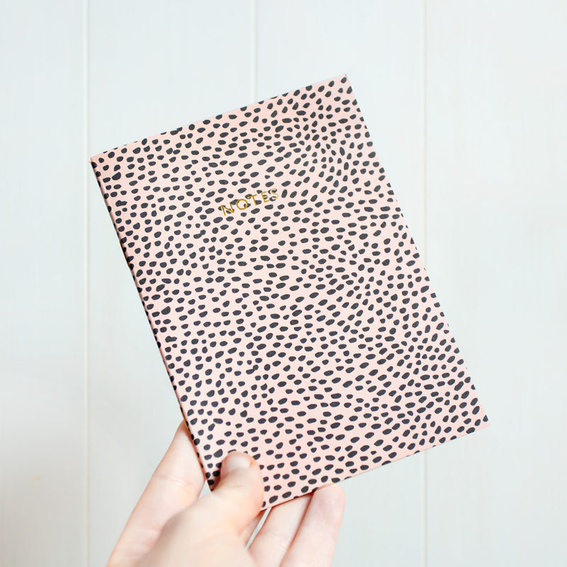 Fish Scales A6 Notebook