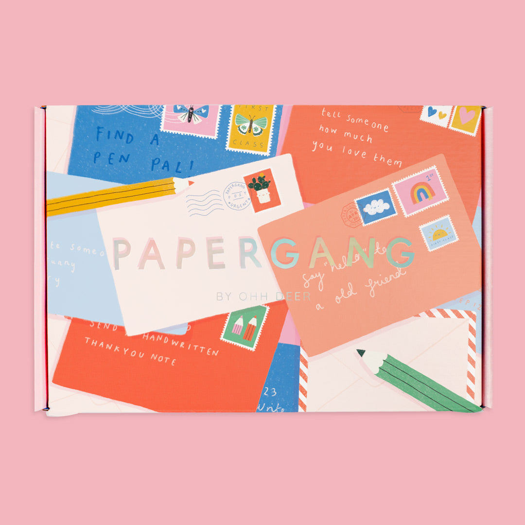 Let's Get Organised for 2021 Papergang Box