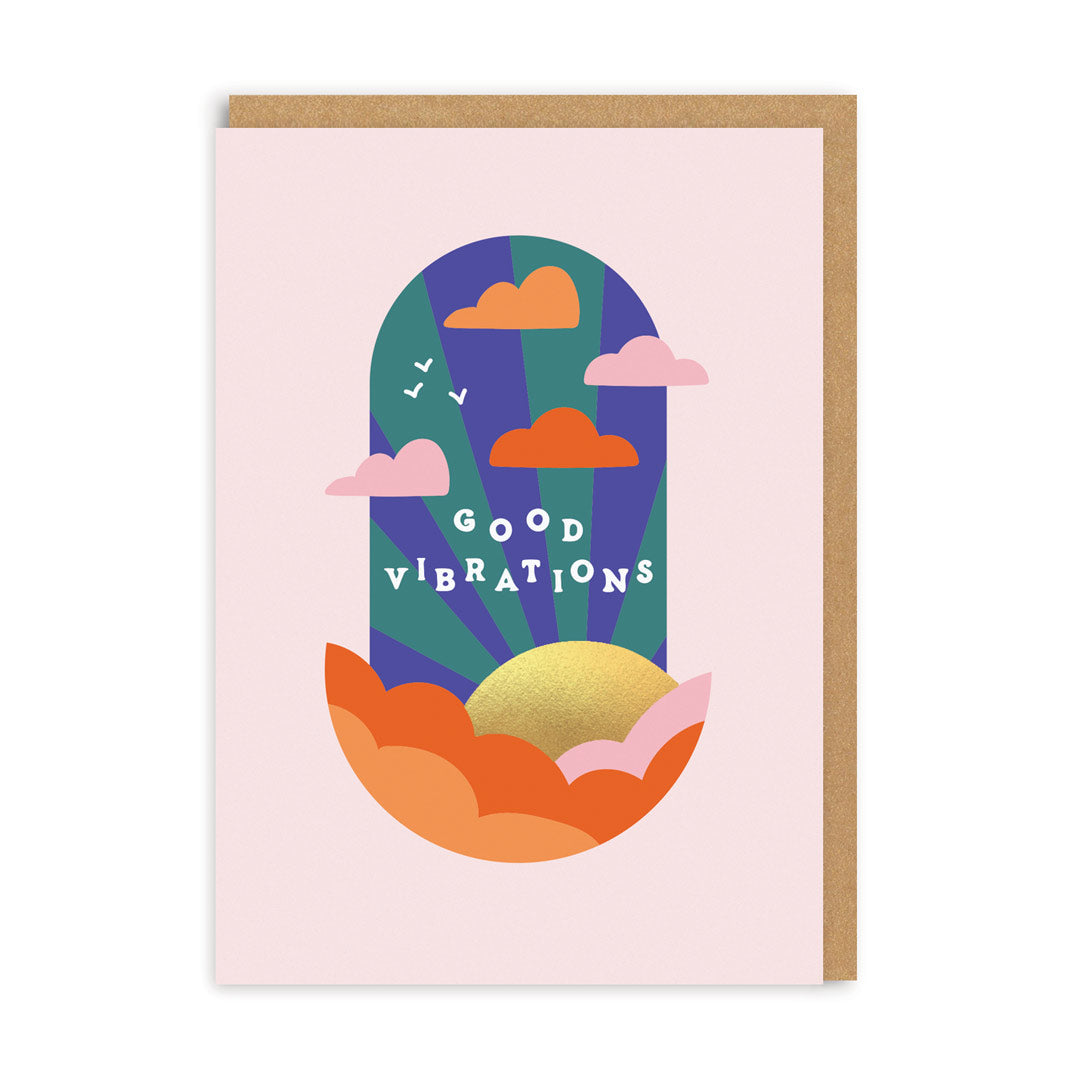 Good Vibrations Greeting Card