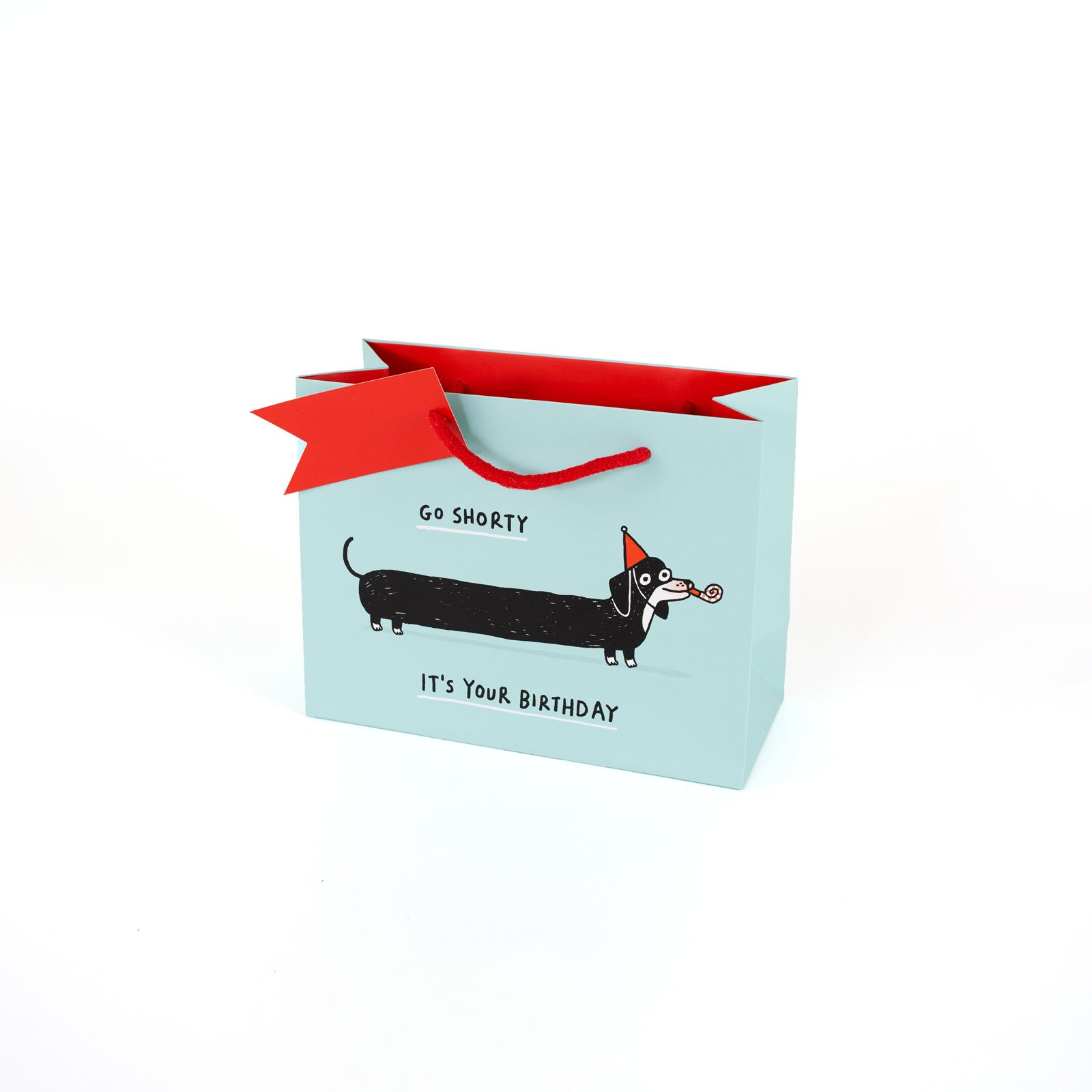 Sausage Dog Medium Giftbag