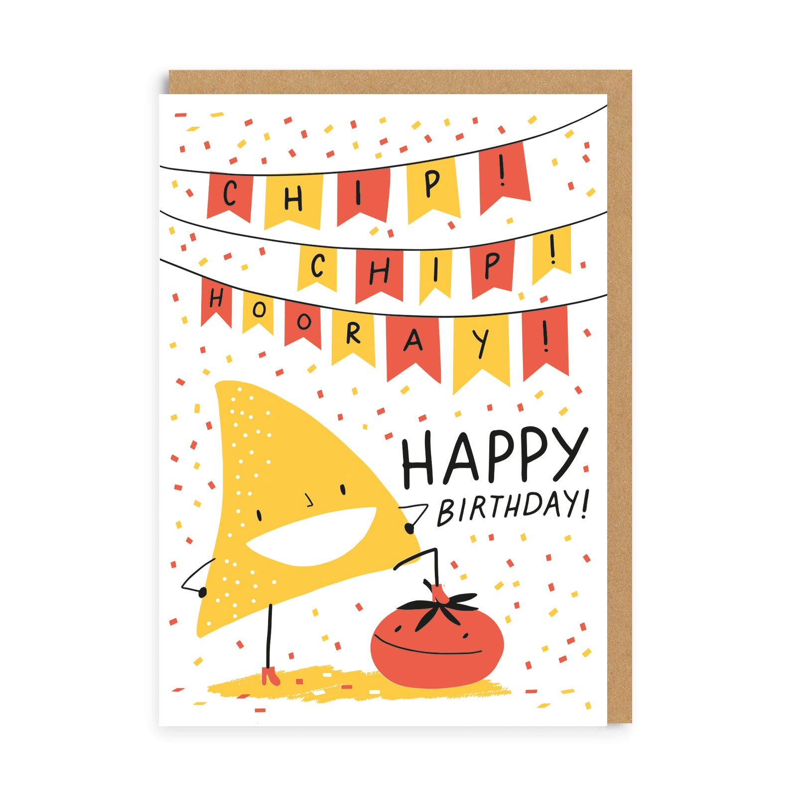 Chip Chip Hooray Greeting Card