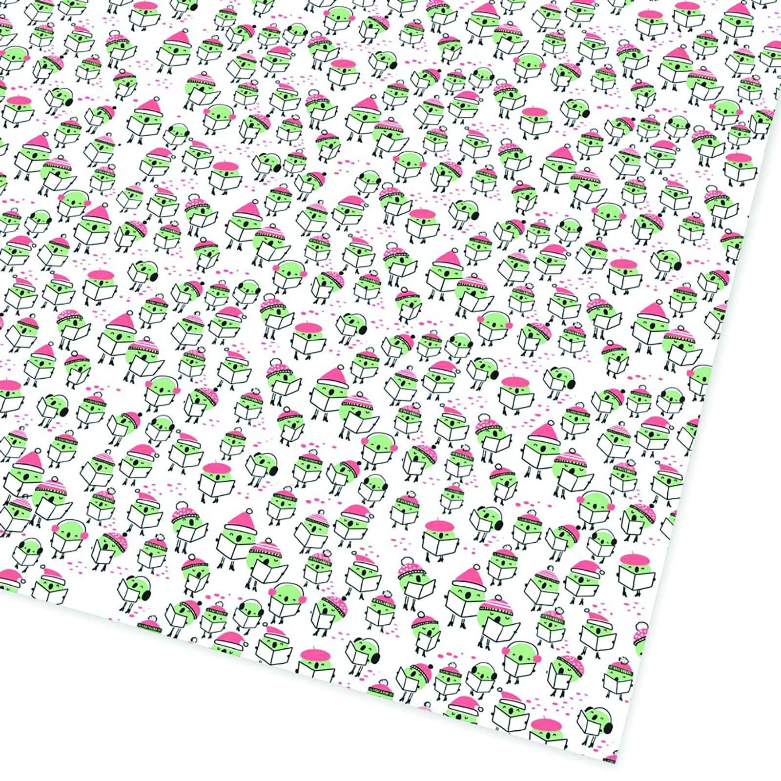 Peas On Earth Christmas Giftwrap