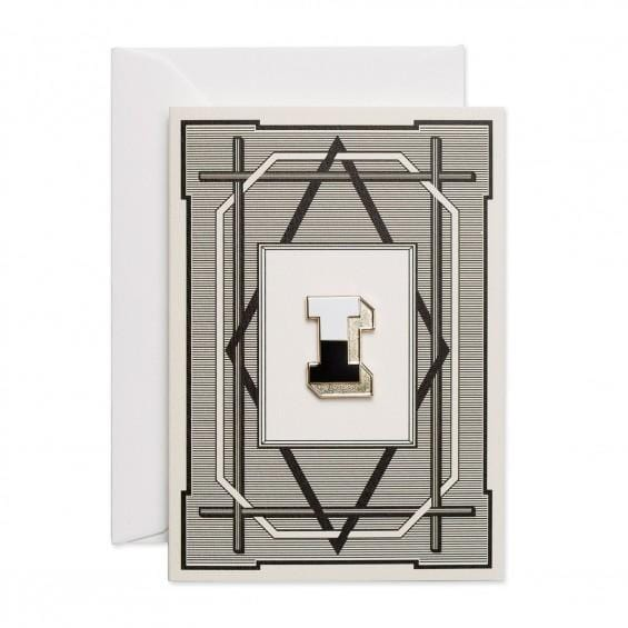 Alphabet Pin & Greeting Card