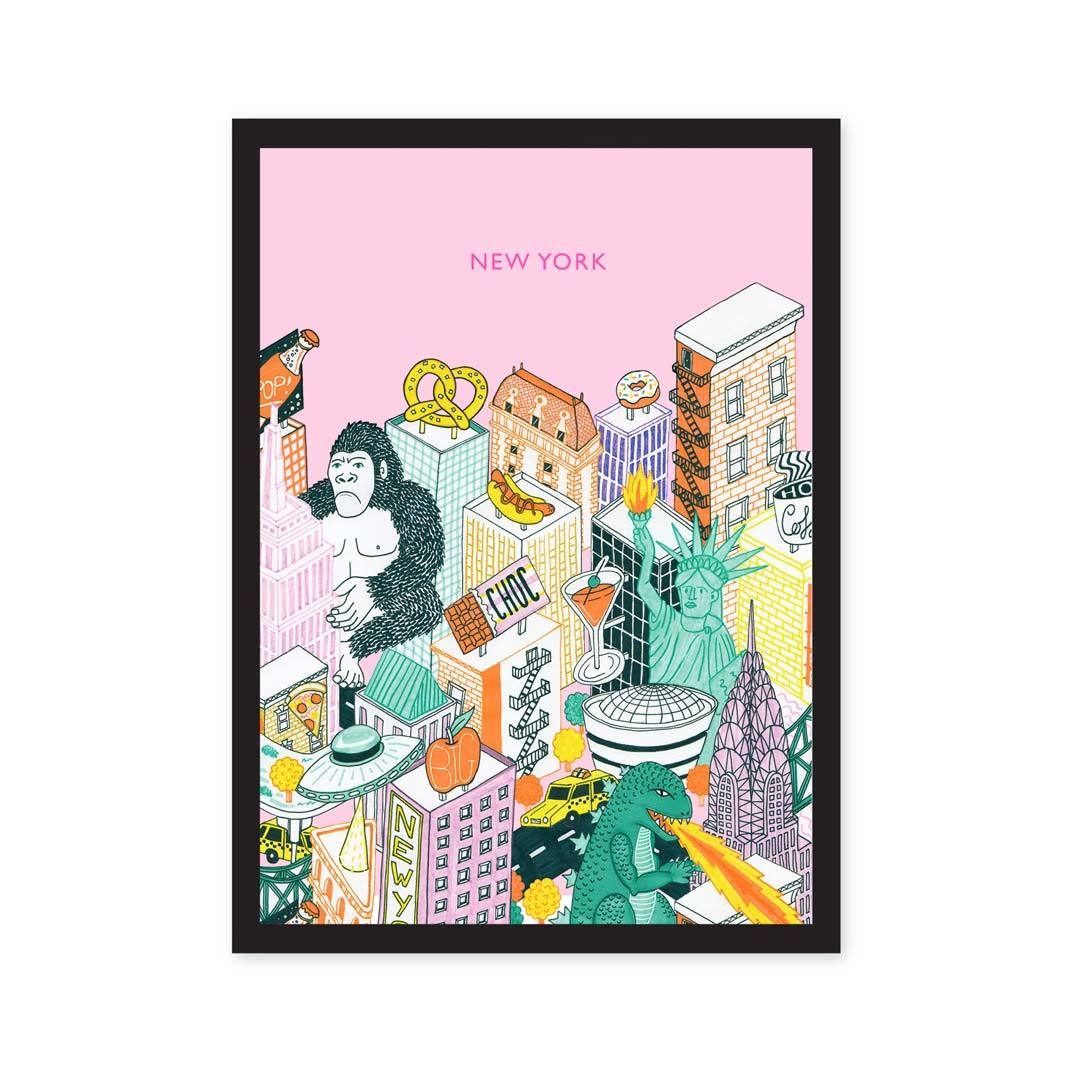 A5 New York Art Print