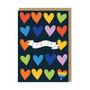 Pride Hearts Greeting Card