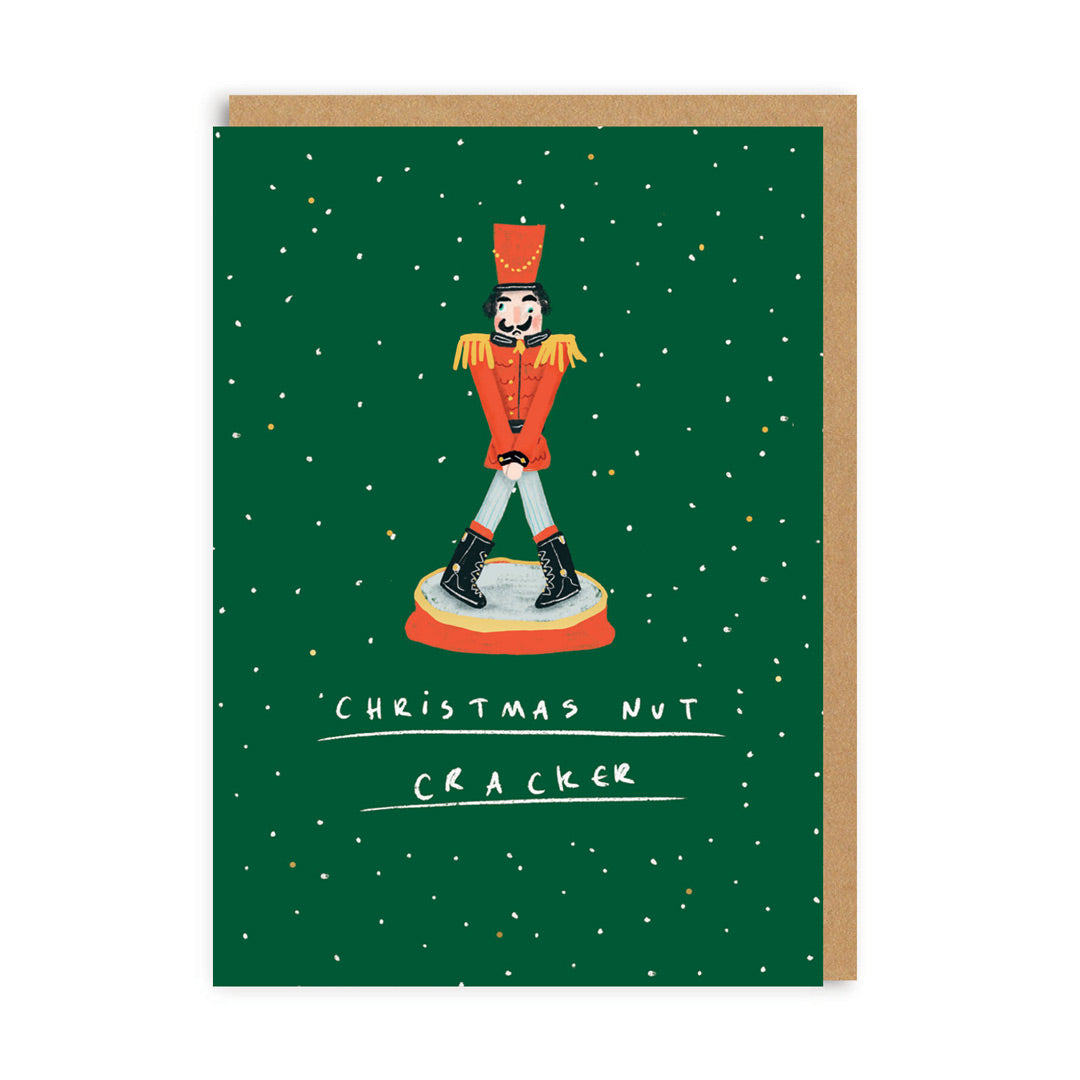 Christmas Nut Cracker Christmas Card