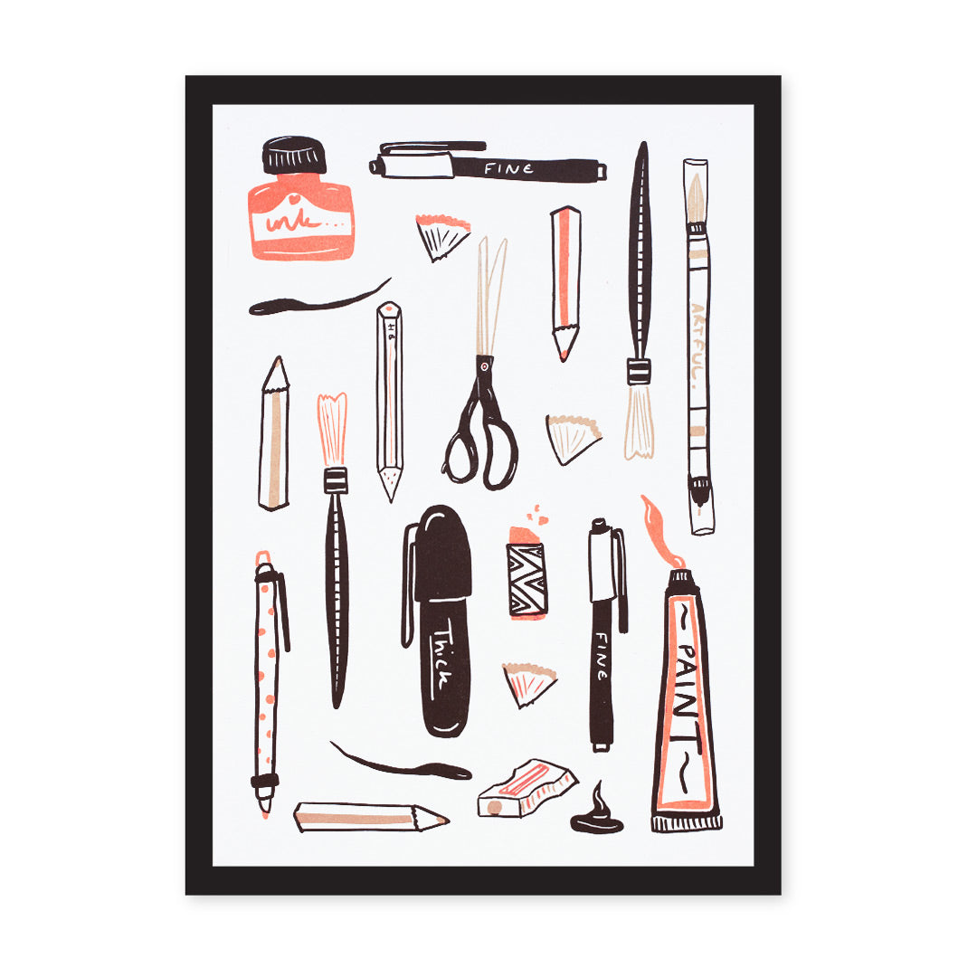 A4 Make Your Mark Riso Print