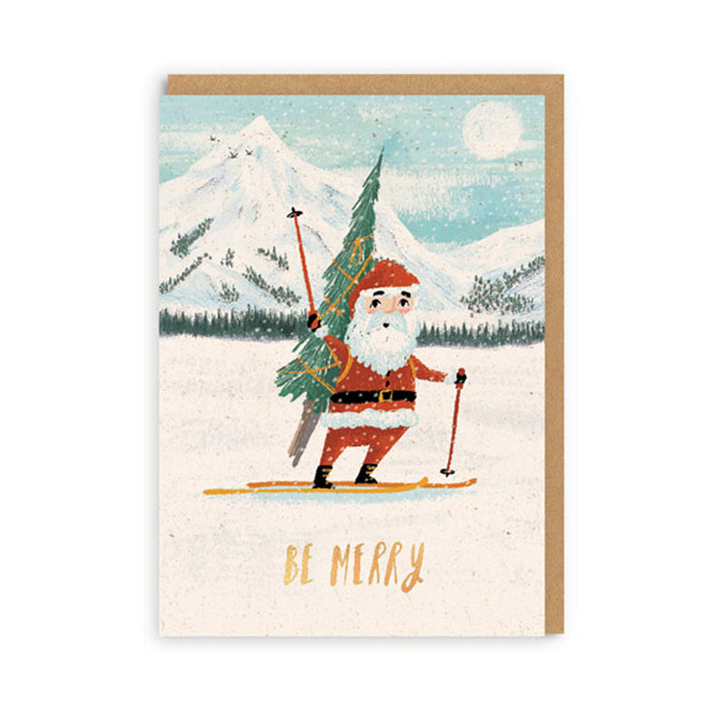 Be Merry Card Set A7 - Set of 6