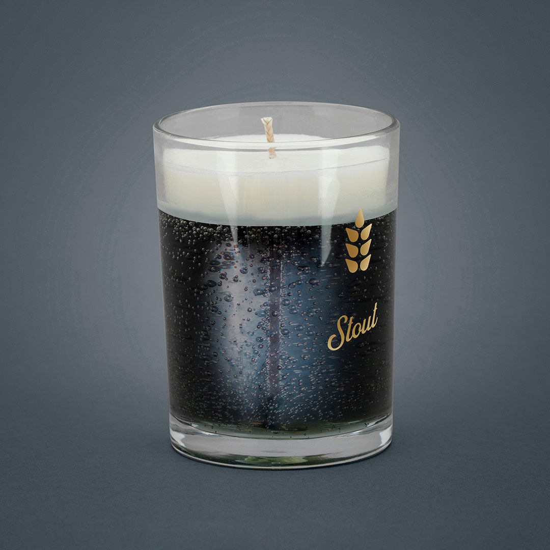 Stout Beer Candle