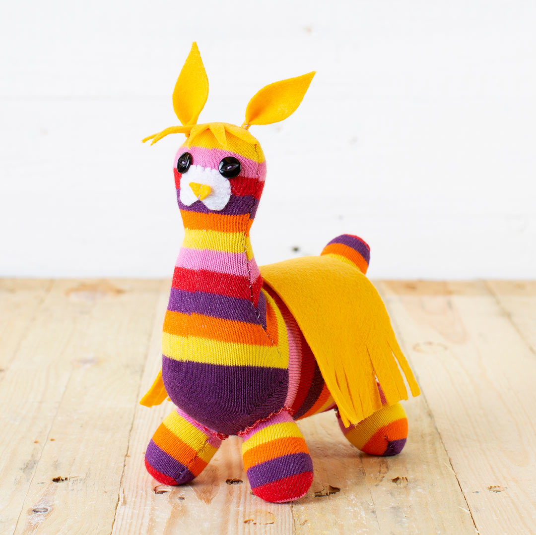 Sock Llama Craft Kit