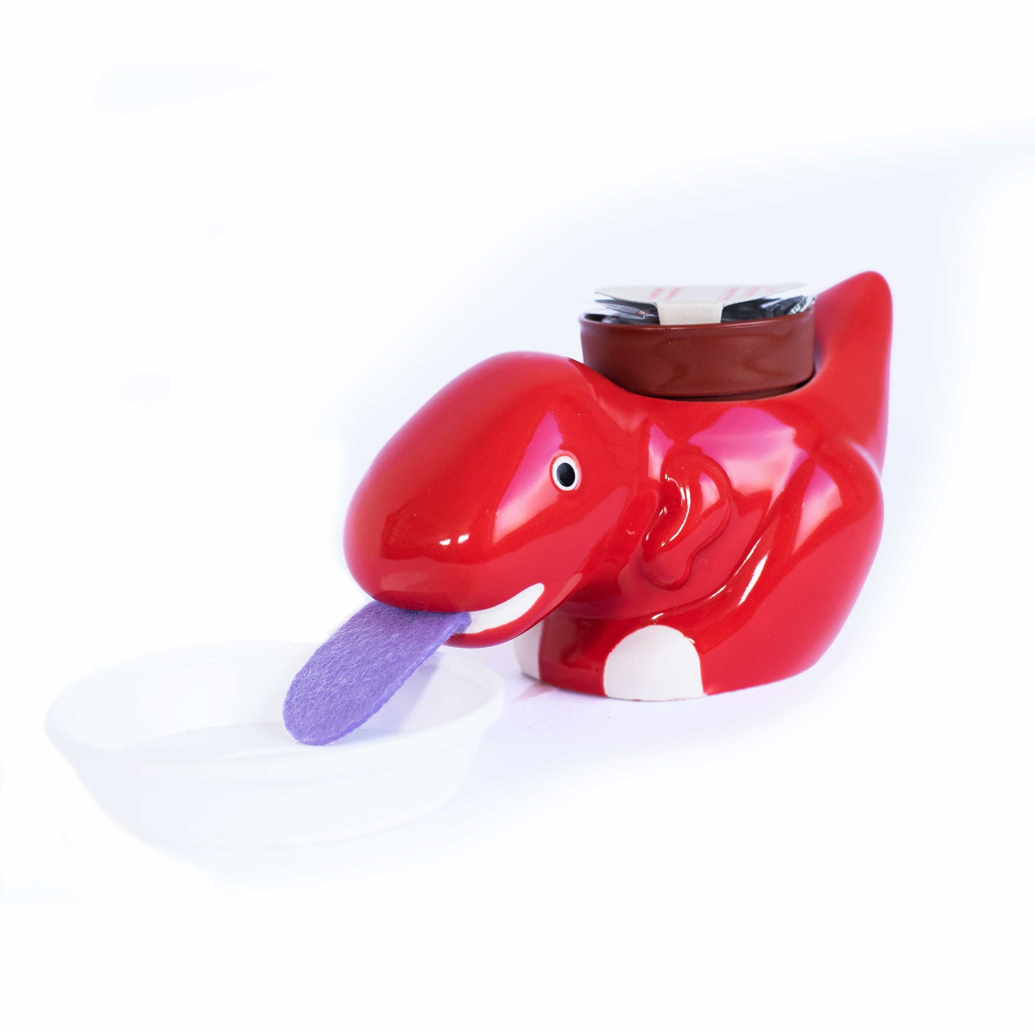 Red Zaurus Self Drinking Strawberry Planter