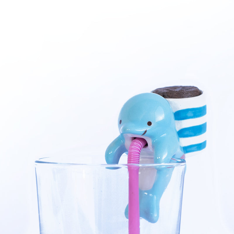 Chuppon Self Watering Dolphin Clover Planter