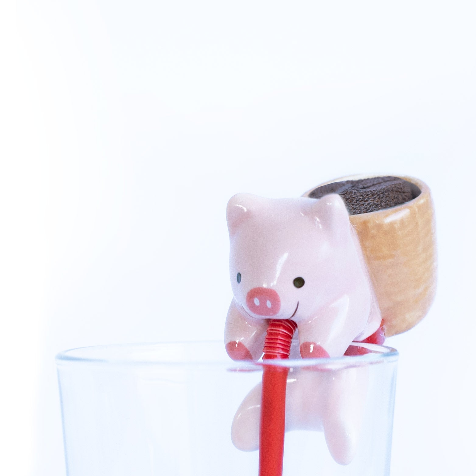 Chuppon Self Watering Piglet Clover Planter