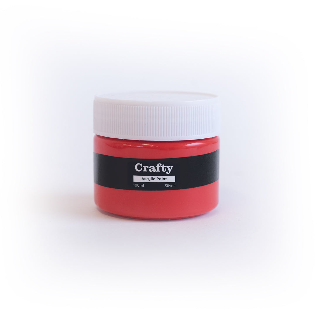 Red Acrylic Paint 100ml
