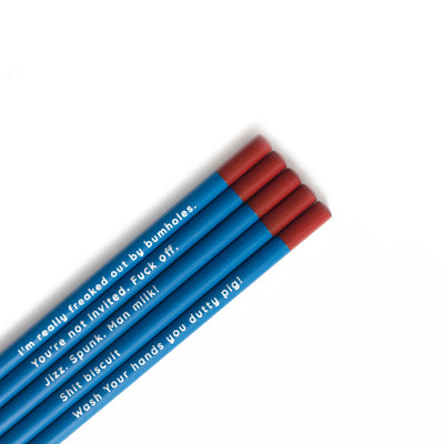 Sex Education Pencil Set