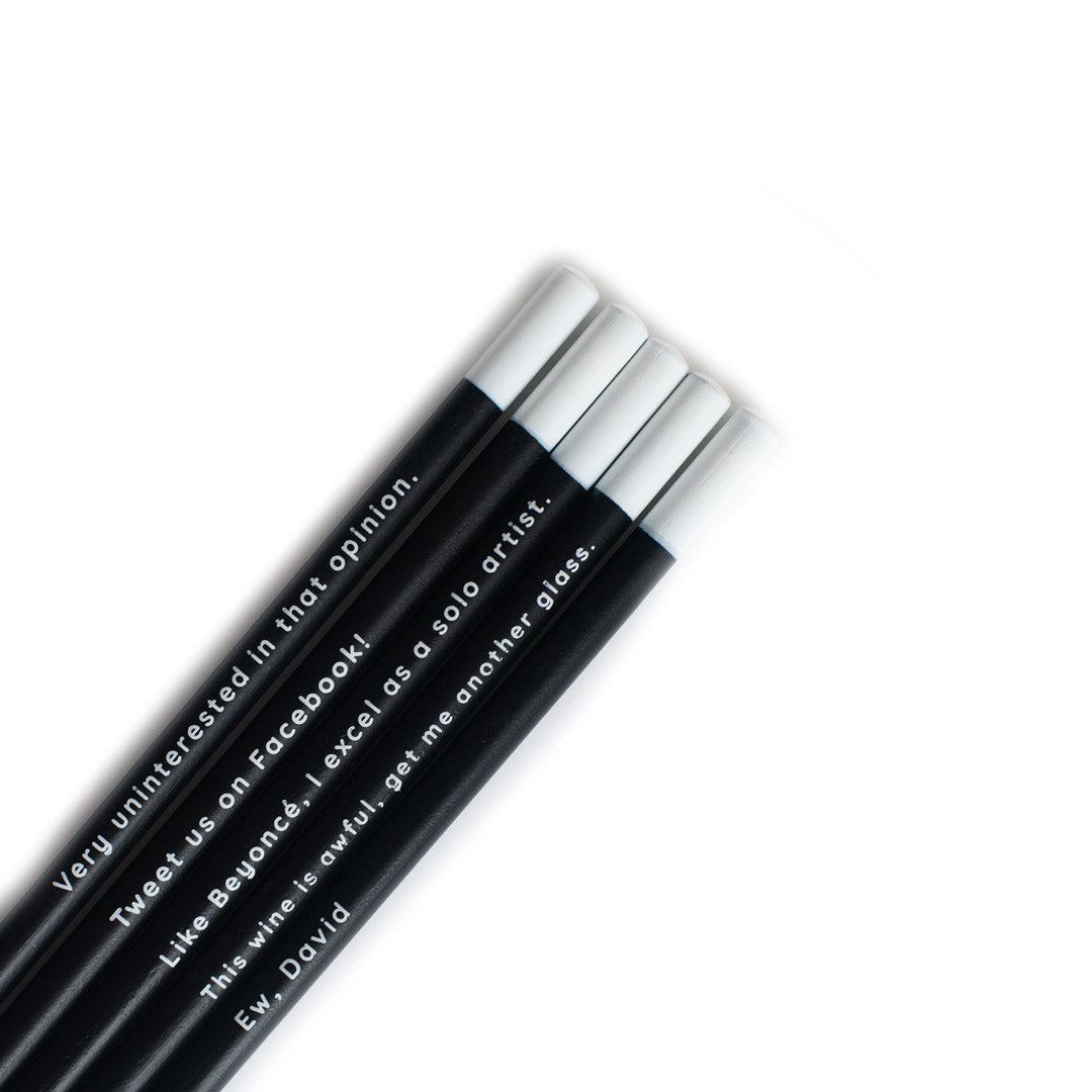 Schitt's Creek Pencil Set