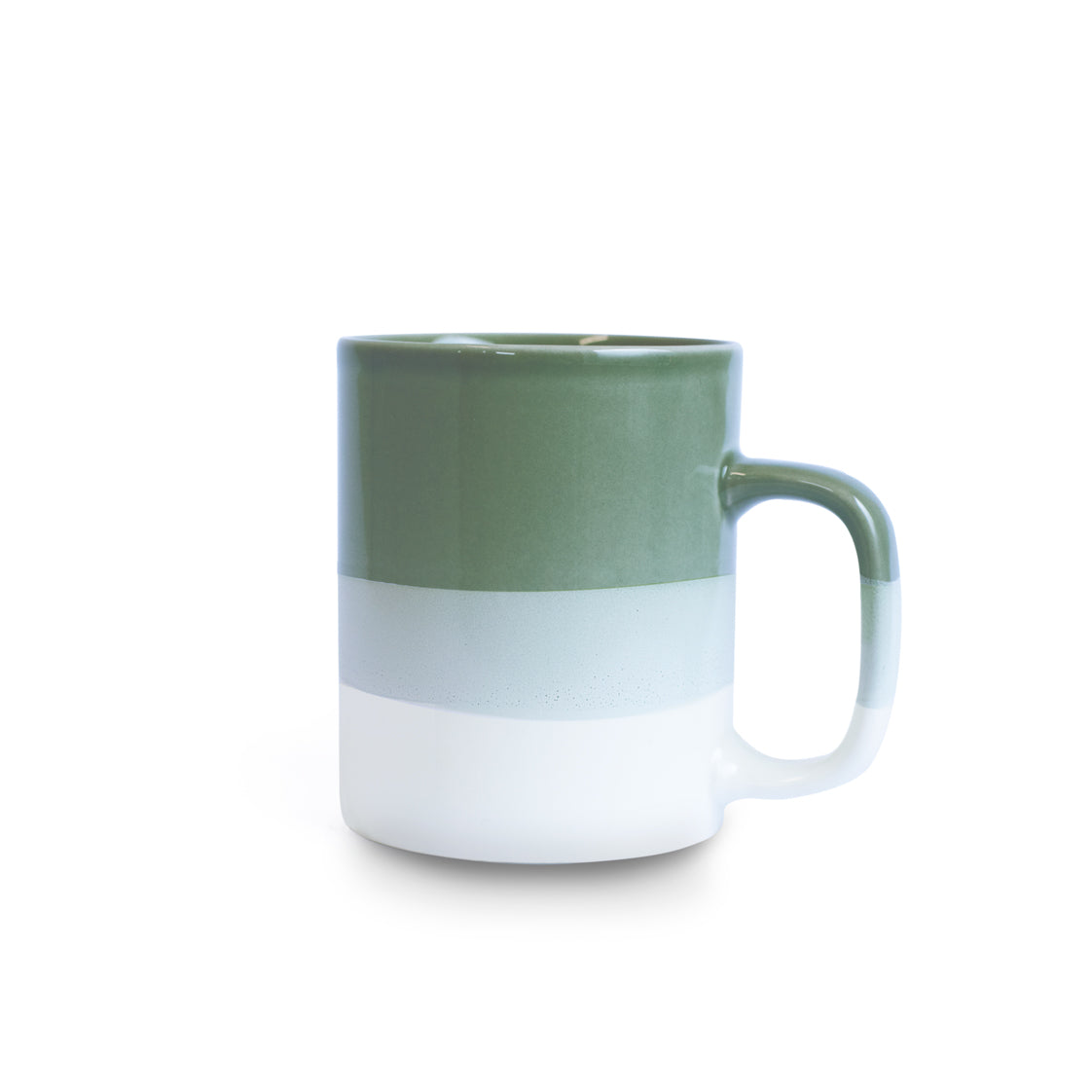 Celadon Green & White Mug