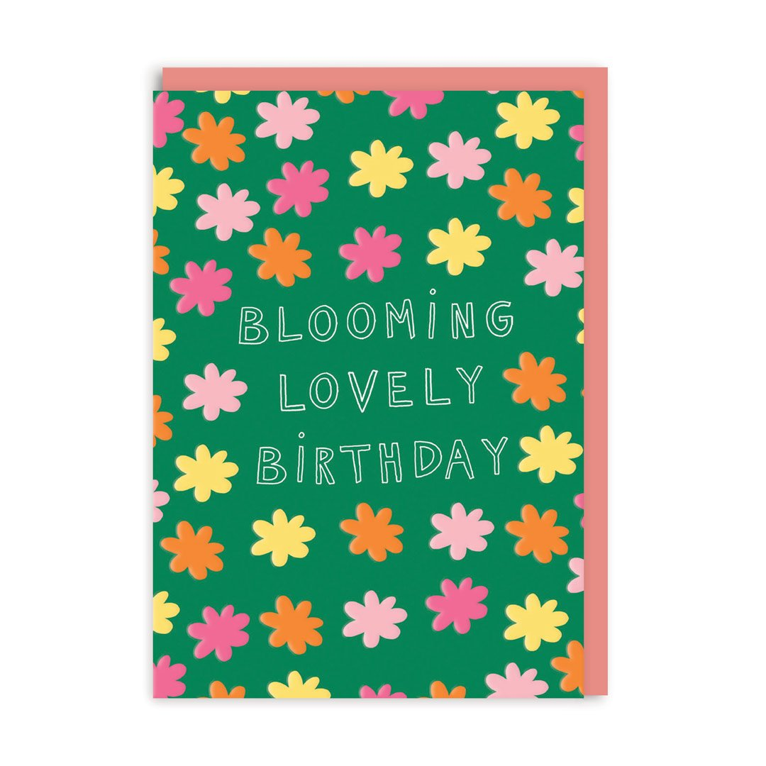 Blooming Lovely Birthday Greeting Card