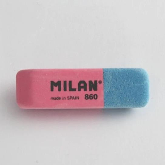 Milan Natural Rubber Erasers 860