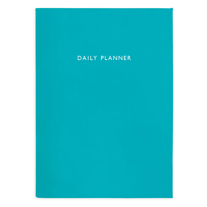 Sea Teal Daily Planner