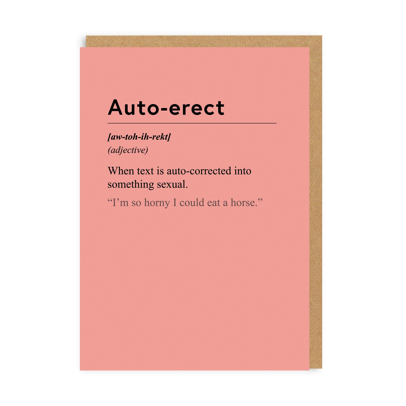 Auto-erect Greeting Card
