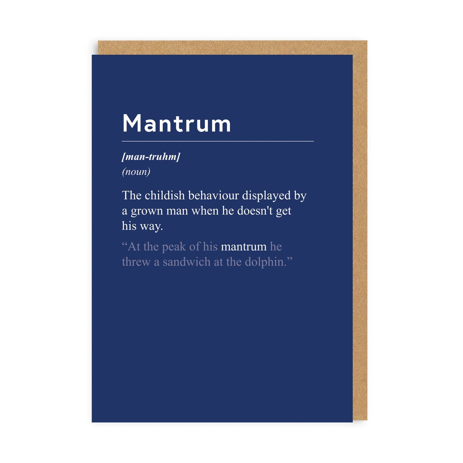 Mantrum Greeting Card