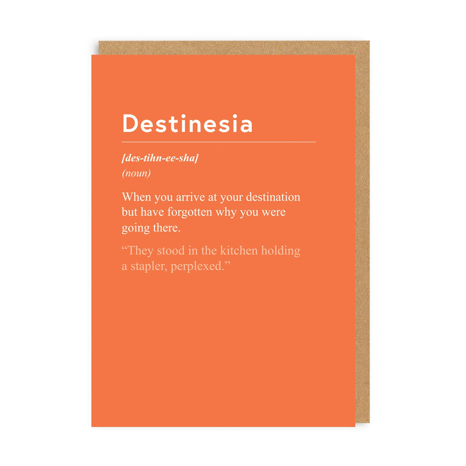 Destinesia Greeting Card