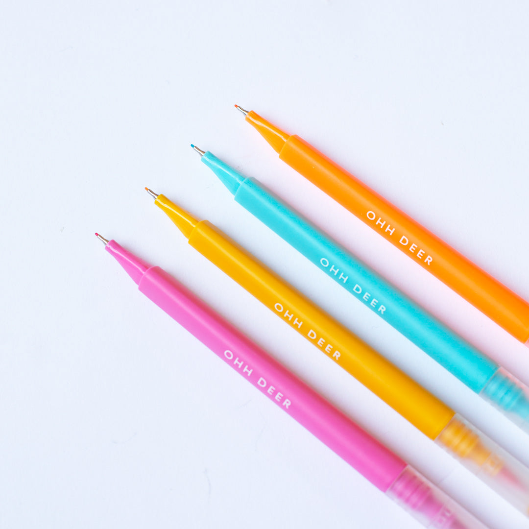 Colouring Pens Set of 4