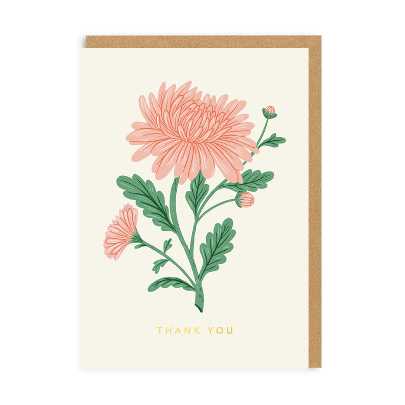 Thank You Rose Greeting Card