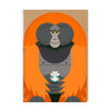 Birthday Orangutan Greeting Card