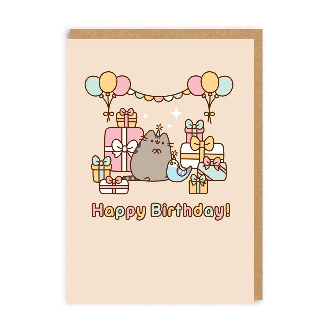 Happy Birthday with Bo Greeting Card