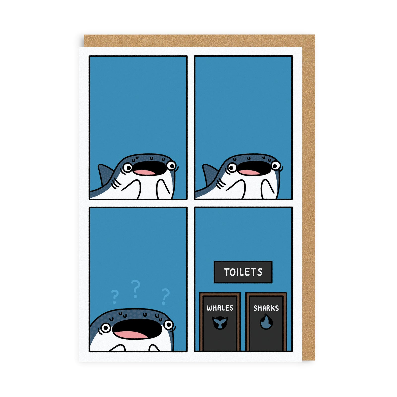 Whaleshark Greeting Card