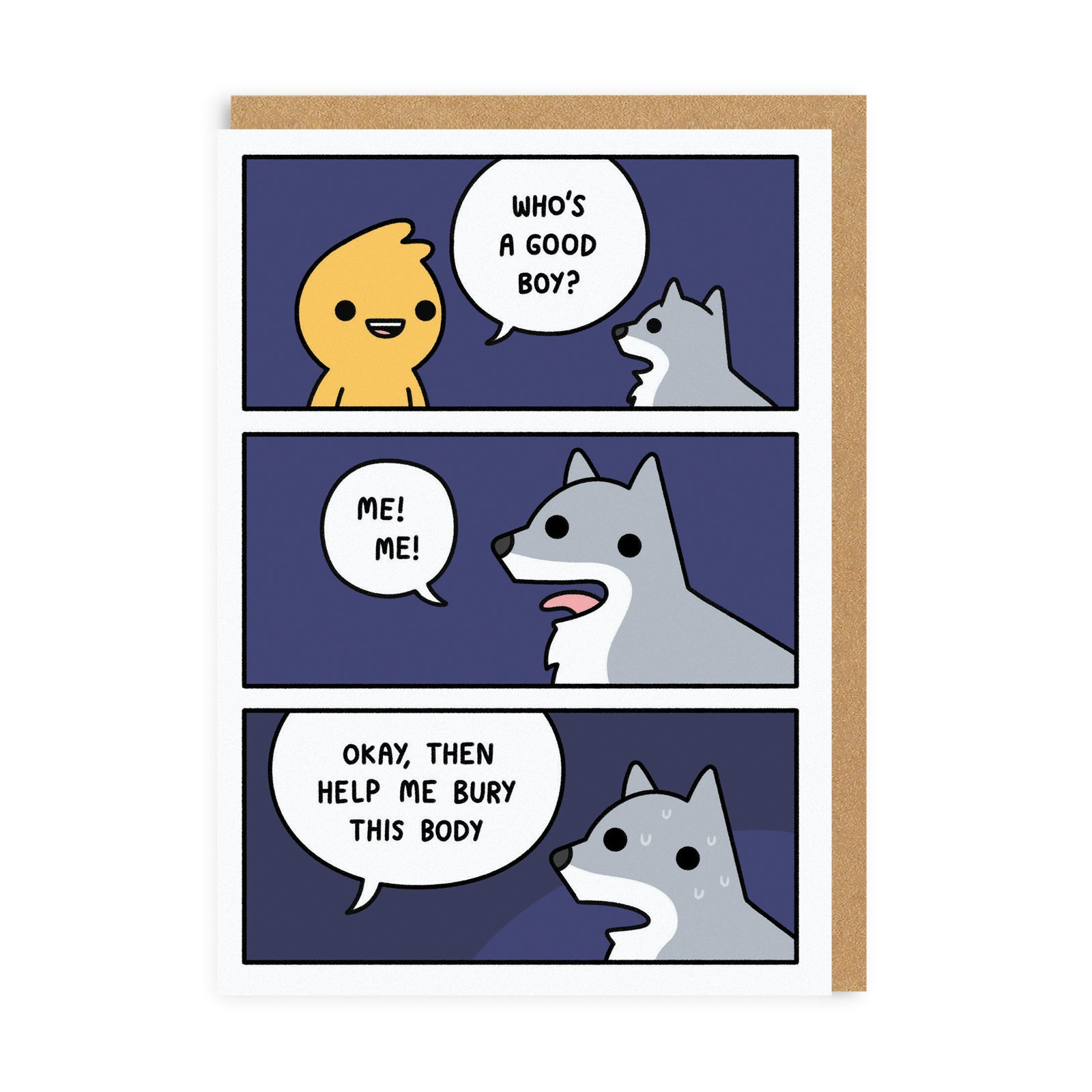 Good Boy Greeting Card