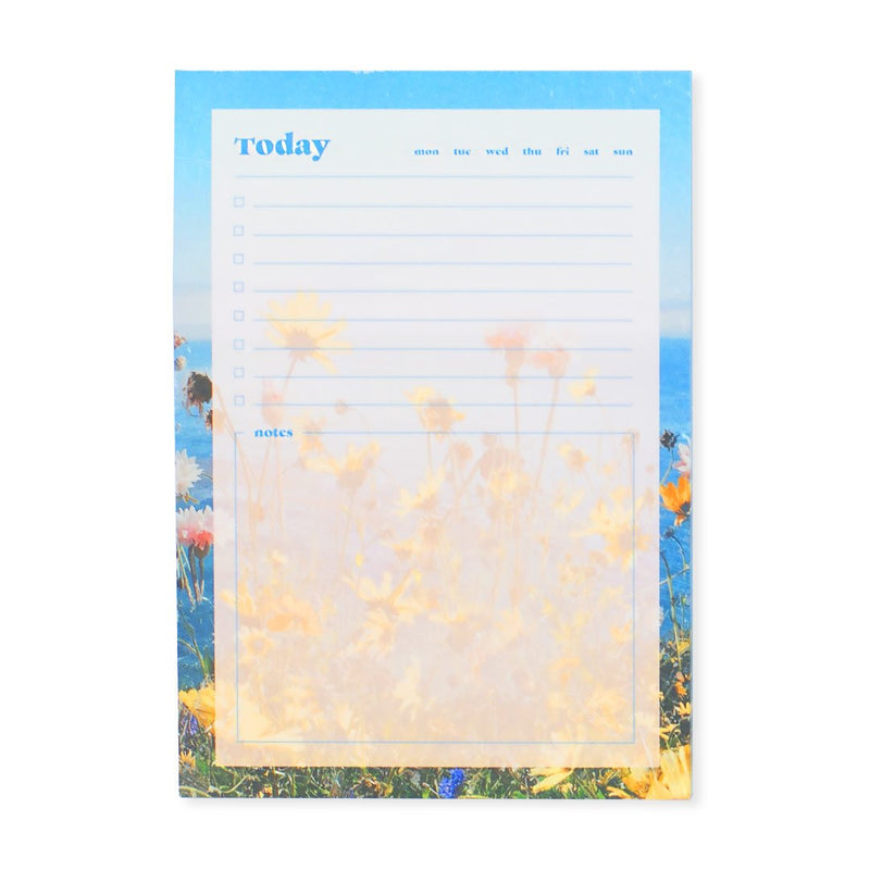 Coastal Blooms A6 Notepad