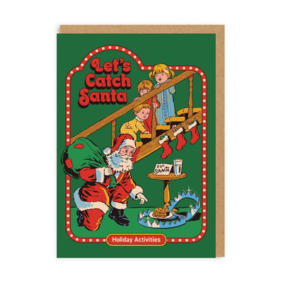 Let's Catch Santa Christmas Card